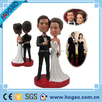 Custom Your Own Bobblehead Personalized Wedding Decoration Couple Cake Toppers