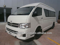 New Car Toyota Hiace High Roof Bus with ABS