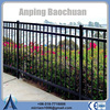 High quality wrought iron fence cap/antique wrought iron fence panels (ISO factory)