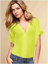 Ladies Blouse in plain color with all sizes