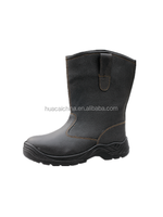 Puncture proof safety working boots most comfortable steel toe safety boots for worksman