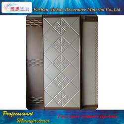 hinged mirror closet doors hotel door sliding wardrobe door with Acropolis design from China