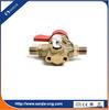 automobile engine system gas charging valve