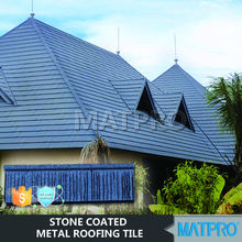 Africa construction material color zinc coated steel roof tiles
