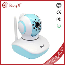 720P HD plug&play ip camera h.264 baby monitor phone remote controll