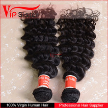 virgin never tangled and collected in one direction 100% human hair weave extension
