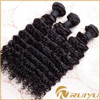 Full cuticle deep wave unprocessed wholesale virgin pound hair