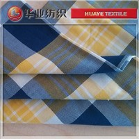 high quality yarn dyed cotton broad check dobby fabric for cloths