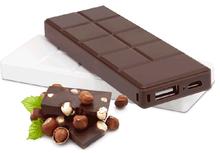 5500mAh Chocolate bar shape power bank portable charger for mobile phone
