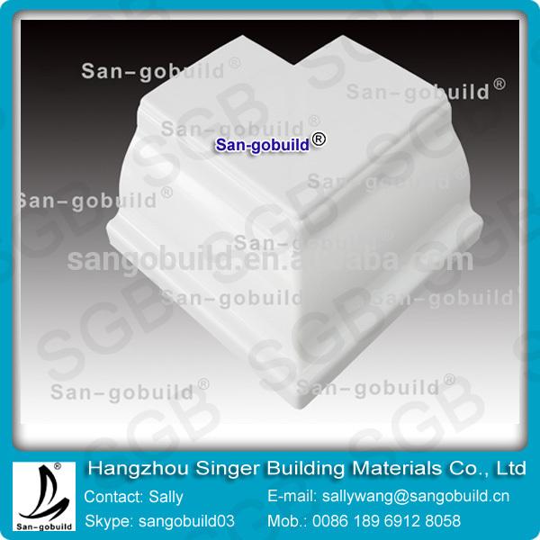 Sgb pvc canaletas de lluvia canalones de pvc accesorios - Canalones de plastico ...