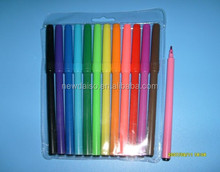 Water-based washable ink watercolor drawing pens for office and school supply