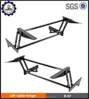 Furniture hardware multi-function hydraulic lifting rod security buffer tea table hinge