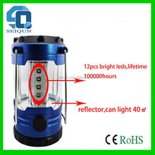 Popular updated solar camping lantern with mp3 and radio