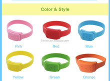 best sellers silicone mosquito repellent bracelet essential oil