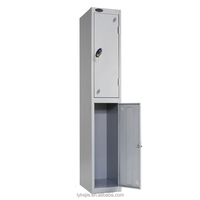 Cheap Price Clothing Wardrobes Office Furniture Double Door Steel Locker with legs