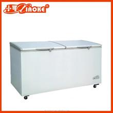BD-308 single top door display fridge with solar energy