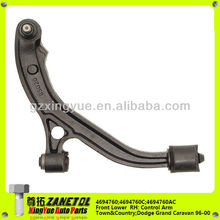 Auto Control Arm Front Lower Suspension Right 4694760;4694760AC/AA 4694760C Chrysler Town&Country;Dodge Grand Caravan 96-2000