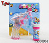 transparent with flashing & music soap bubble water gun toy roulette game