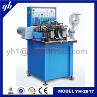 The Highest Density Polyester Ultrasonic Cut End Fold Machine for Kid Clothes Woven Label