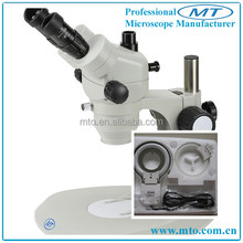 7x-45x Zoom Greenough microscopios estéreo