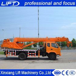 Manufacture price hydraulic telescopic boom p&h truck crane in competitive price