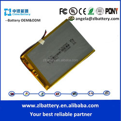 hot sale model 366590 1800mAh battery aaa rechargeable batteries 4v