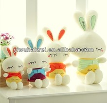 cute cartoon hot sale rabbit plush toy in stock