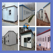 Alibaba China manufacture Africa/Asia/South America Light Steel Prefab House