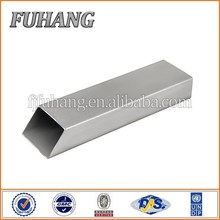 High quality ASTM 201 304 316 welded rectangular stainless steel pipe