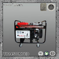 2 pole 3000rpm open type electric start air cooled synchronous magnetic generator 10 kva diesel
