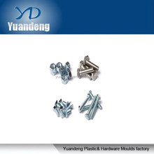 Steel and stainless steel fastener bolt and nut