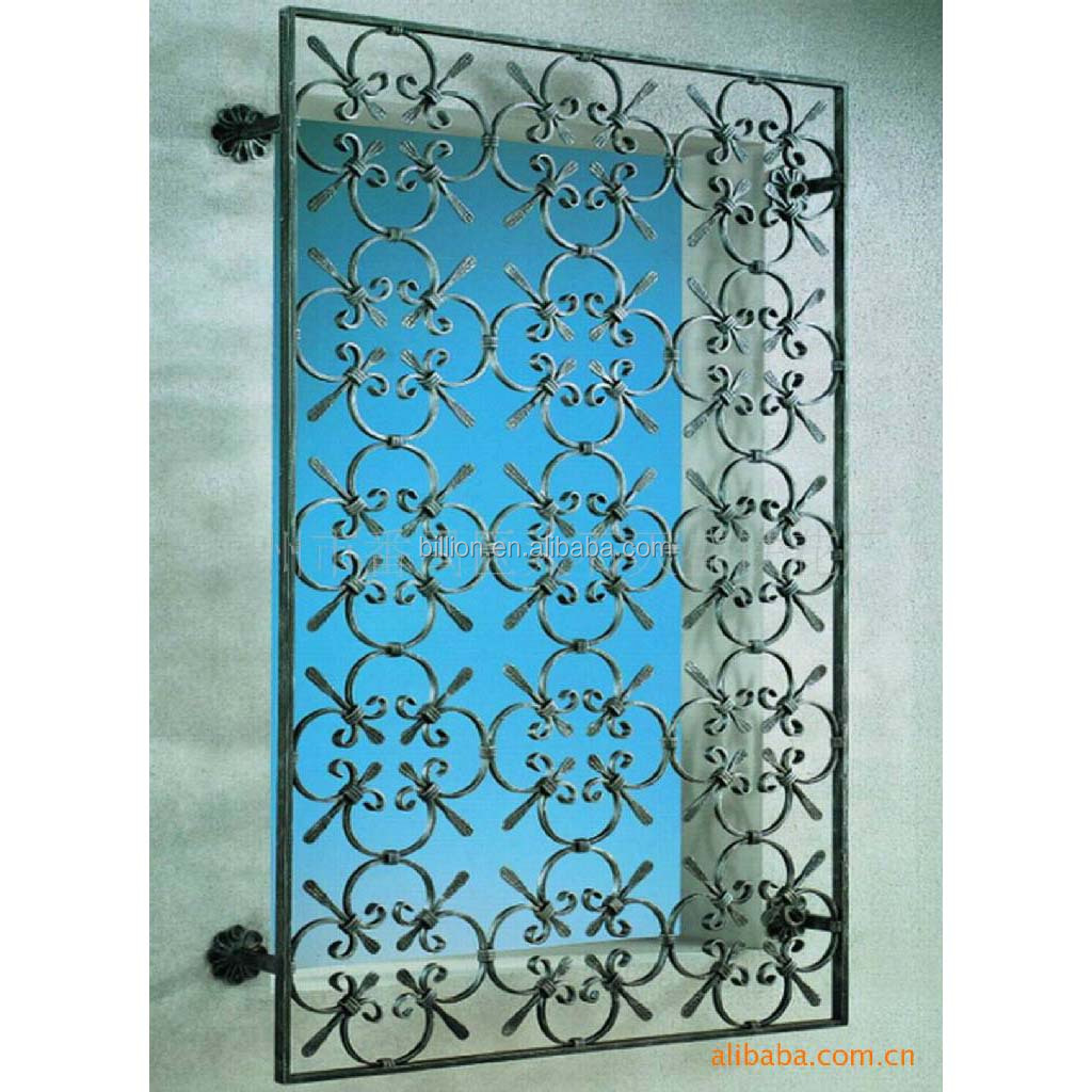 Decorative window security bars design buy decorative for Window bars design