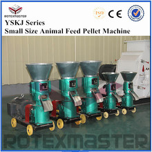 Animal feed pelletizing plant / poultry feed pellet mill / livestock feed pelleting machinery
