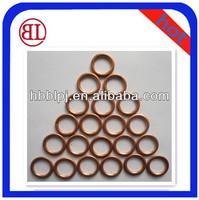 Injector Pump Flat Polishing Ring Seal Metal Copper Gasket