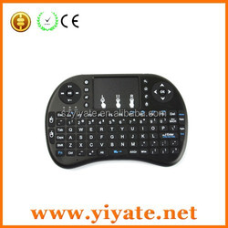 i8 wireless air mouse,92 full keys wireless Keyboard for game with Touchpad