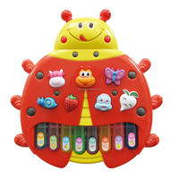 Hot Sell Chenghai Plastic Music Toy Insect Electronic Organ Music Toy For Sale