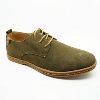 soft suede upper hidden heel most comfortable casual oxfords shoe china guangzhou wholesale market of men leather shoes