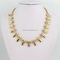 Fashion necklace arabic gold jewellery designs wholesale MLQZAN387