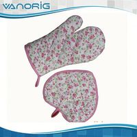 BEST SALE High Quality Kitchen Custom fire-proof oven glove