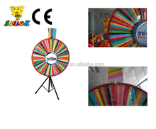 Shile promotional advertising prize wheel of fortune,lucky wheel