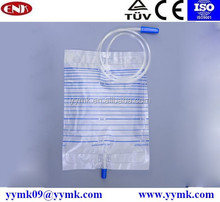 medical urinal,urine collector, urine collection bag 1000ml