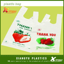 grocery hdpe thank you t-shirt vest carrier bags