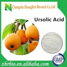 Touchhealthy supply High Purity Ingredients 98% HPLC ursolic acid loquat leaf extract