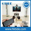 Mini computadora de mano qwerty bluetooth pc 2.4 ghz touchpad teclado