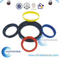 Colorful Aluminum Truck Wheel Hub Centric/Center Rings Plastic for Wheel Rim