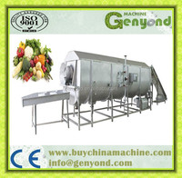 steam blanching machine/steam blancher/fruit blancher with high quality
