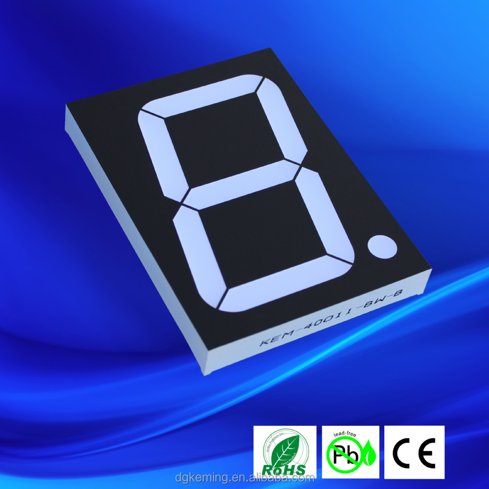 4 inch 7 segment led display outdoor bright