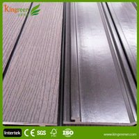 Kingreen Anti-UV Porch Fencing Handrail Height Wood Plastic Composite Decking Boards