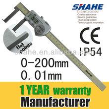 """5120# 0-200mm 8"""" stainless hardened internal vernier caliper"""