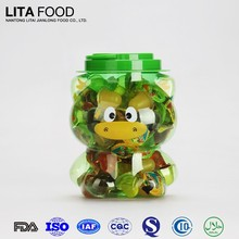 15g Jelly Cup with Plastic Penguin Jar Coconut Jelly Pudding